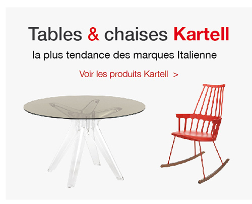 table et chaise/ACCUEIL TABLE CHAISE KARTELL