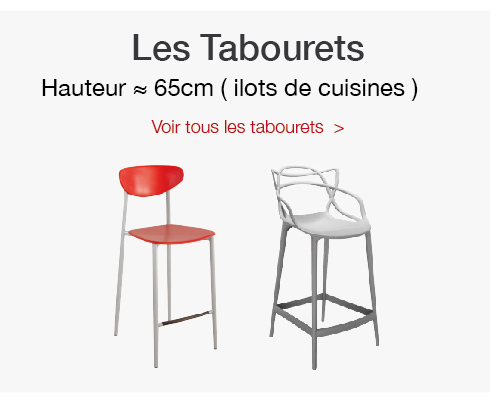 table et chaise/tabouret H65 cm