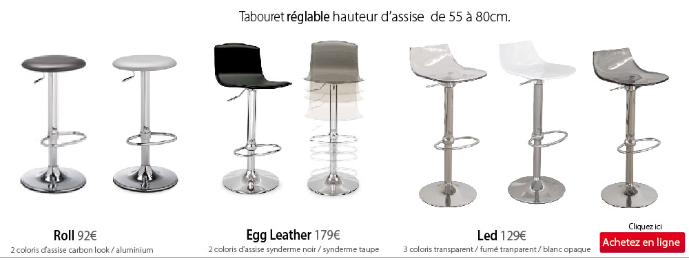 Table Et Chaise Tabouret Relabel Led Roll Egg Fabrimeuble 2015